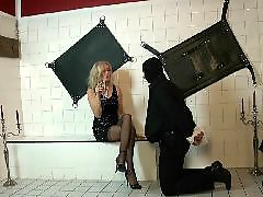 Lady, Boss, Upskirt mature, Perfect, Slave foot, Slave bdsm