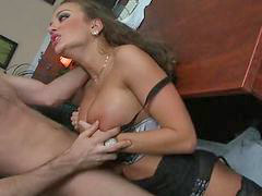 Massive, James deen, Busty, Babes, Cock, ㅇbabe