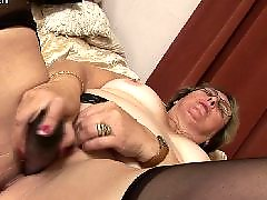 Amateur, Mature, Stocking, Milf, Granny