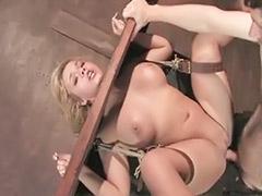Tit bondage deepthroat, Deepthroat bondage, Blonde bombshell, Bondage deepthroat, Bondage ass, Bombshell