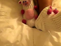 Strips, Stripping strips, Sock, Teasing, Teases, Tease foot