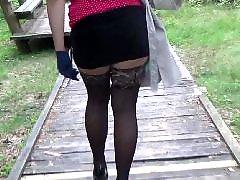 Walk, Walking heels, Walking, Stockings babe, Stockings mature, Stocking mature