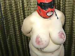 Mature, Bbw, Slave, Big boobs, Bdsm