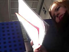Redhead amateur, Voyeur blonde, Voyeur blond, Voyeur amateur, Training in the train, Training