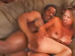 Pierced asian, Masturbating in front, Interracial asian anal, In front husband, In front, Husband interracial