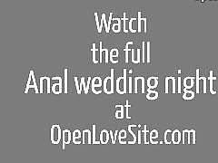 Wedded, Wed, Night, Wedding anal, Wedding, Night anal
