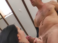 Rimming facial, Threesome rimming, Threesome ass cum, Threesome anal rimming, Rimming high heel, Rim threesome
