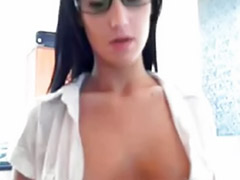 Show sexy tits, Show tits, Showe tits, Sexy big tits solo, Solo girl office, Office solo