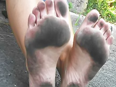 Solo dirty, Footjob soles, Footjob girl, Footjob amateur, Dirty solo, Dirty soles