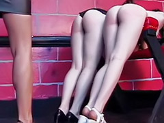 Two femdom, Two bitch, Spanking two, Naughty lesbian, Lesbian naughty, Femdom two