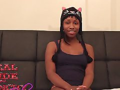 Teen, First, Ebony teen, Black