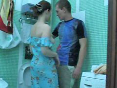 Seducing, Seduced girl, Seduced bathroom, Seduce, Own, Bro