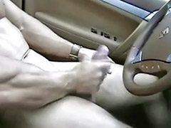 Wank off, Wanking off, Wanking in car, Solo car masturbation, Solo car, Masturbating in car
