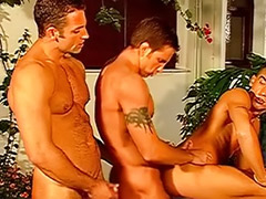 Provider, Masturbating for group, One hole, One guy, Hole gay, Group guys wank