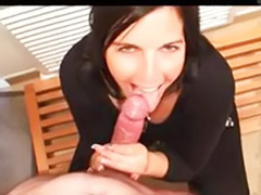 Mouth facial, In her mouth, Brunette cum in mouth, Big mouth, Cum shot in mouth, Cum in her mouth