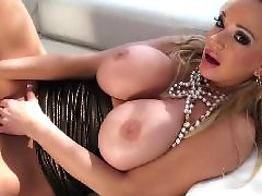 Milf, Masturbation, Big dildo, Big boobs