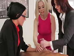 Three girls, Three girl, Handjobs cfnm, Handjob girls, Handjob girl, Handjob cfnm