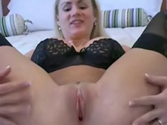 Pov stockings blonde, Pov creamy, Allie sex, Creamie, Creamy vaginal, Creamy sex