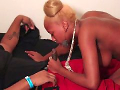 Teen threesome, Teen, Ebony teen