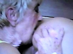 Granny, Ass licking