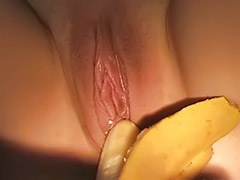 Toy and cock, Pov anal toying, Banana anal, Banana masturbation, Anal banana, Amateur cock and toy