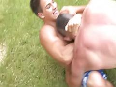 Wrestling لقهم, X wrestling, Wrestling gay, Wrestle gay, Public gays, Public gay