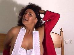 Masturbation secousses, Grand mère se masturbe