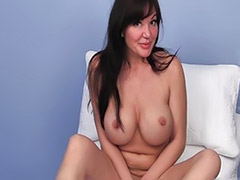 Herself milf, Brunette milf solo, Milf fuck girl, Milf solo