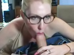 Stockings glasses, Milf sucks stocking, Milf glasses stockings, Milf glasses, Glasses stockings, Glasses milf blowjob