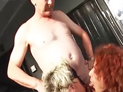 Threesome stocking heels, Threesome domination, Threesome boots, Redhead stockings heels, Redhead blonde threesome, Redhead bondage