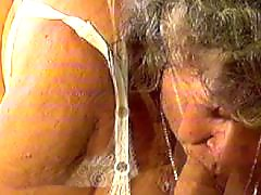 Mature, Granny, Cumshot, Old
