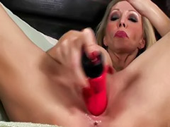 Toy red anal, Red toy, Red girl, Red dildo, Red milf, Red mature