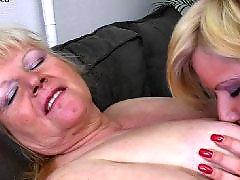 Granny, Young, Mature lesbian