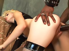 Riding interracial, Riding black cock, Pale interracial, Pale girl, Pale blonde interracial, Pale blonde