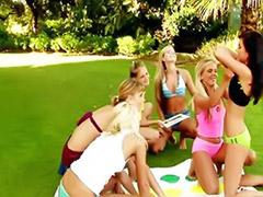 Twister, Play twister, Lesbian twister, Funny lesbian