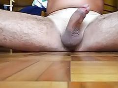 Male solo handjob