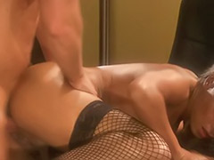 Pantyhose cum, Pantyhose blowjob, Latina pantyhose, Latina office, Dee dee, Dee baker