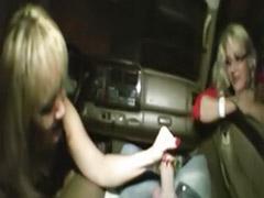 차 딸딸이, 차안에서 자위, 자동차 자위