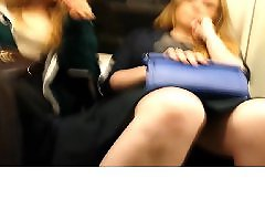 Upskirt, Compilation, Train