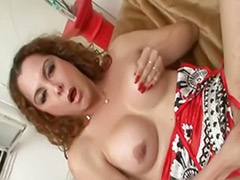 Redhead shemale, Stroking cock, Shemale stroking, She cock, Cock stroking