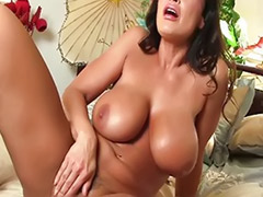 Big tits solo, Lisa ann