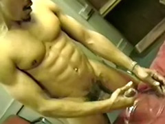 White wank, White gay, White wanking, White solo, White cream, Solo masturbation cream