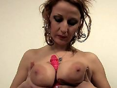 Mature masturbation, Big dildo, Mature dildo