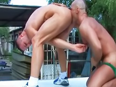 Raw, Raw gay, Outdoor rimming, Outdoor big cock anal, Outdoor bareback, Gay wanking outdoors