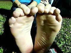 Student, Student amateur, Fetishism, Fetish foot, Foot발, Footing