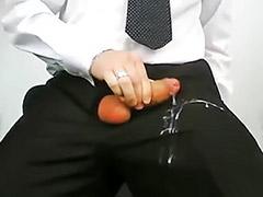 Suit, Trouser, Suit gay, Cum on my
