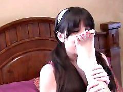 Lesbian feet, Slave