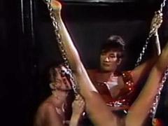 Vintage lesbians, Vintage latex, Vintage fetish, Vintage femdom, Toes sucked, Toe suck masturbation
