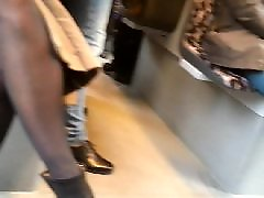 Amateure in strumpfhosen, Amateure, Strümpfe, Schwarz, Beine
