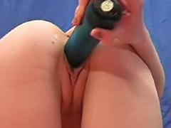 Blonde slut solo